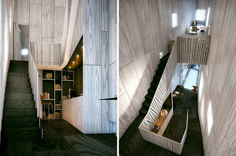 diseño de casa para un escritor