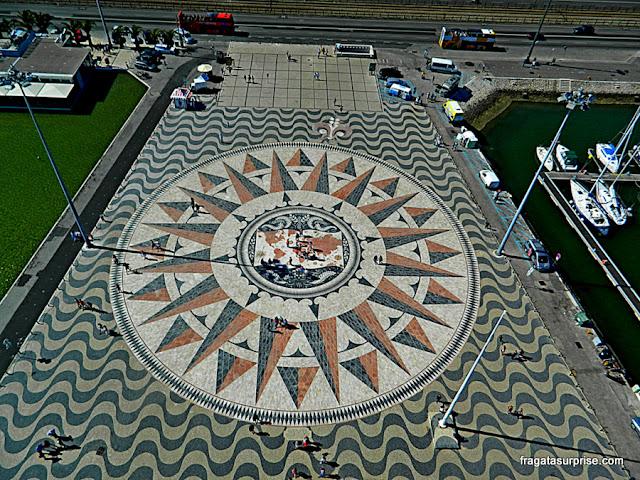 Rosa dos Ventos do Padrão dos Descobrimentos, Lisboa