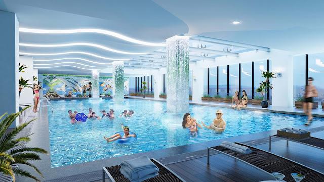 Bể bơi dự án Lilaha Complex