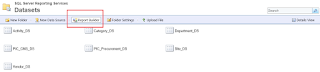 Create Shared Dataset Using Report Builder in SSRS