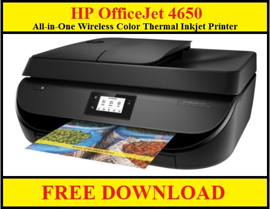 HP OfficeJet 4650 Inkjet Printer