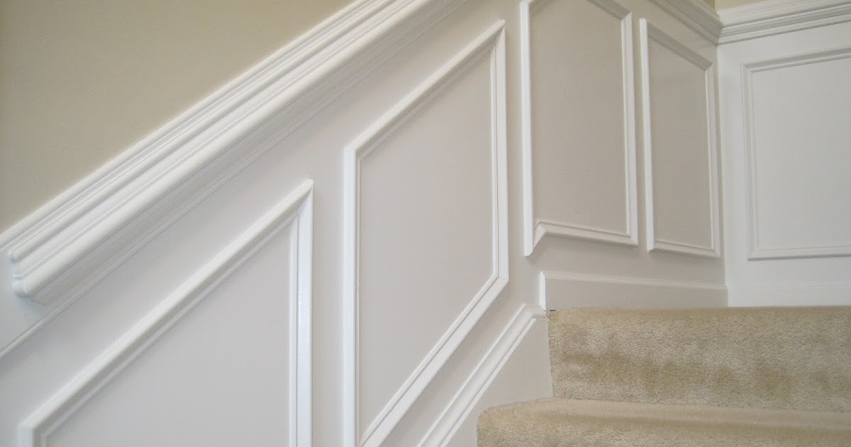 Designed To Dwell Tips For Installing Chair Rail Wainscoting | Chair Rail On Stairs | Double | Traditional | Stained Wood | Remodeling | Wainscoting