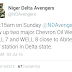 Niger Delta Militants group early hours of today Blew Up Chevron Oil Well