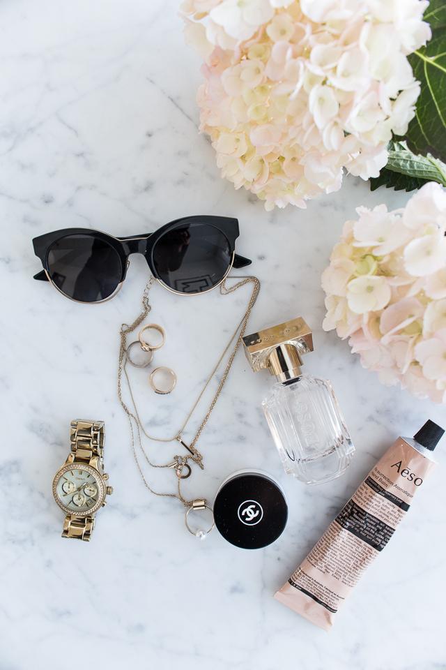 sormukset, dior aurinkolasit, hortensia, villa h, kosmetiikka