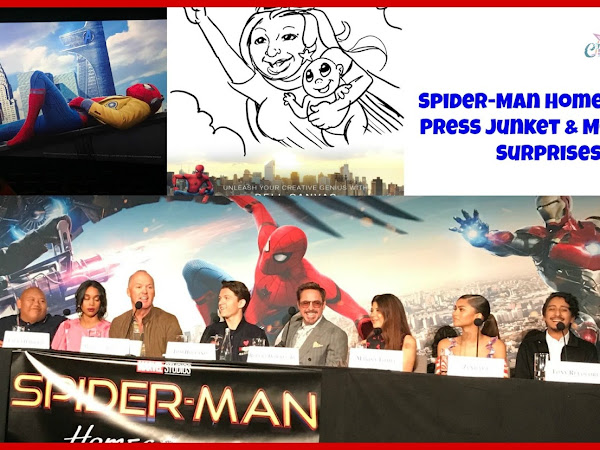 Spider-Man Homecoming Press Junket & More Fun Surprises #SpideyBloggers