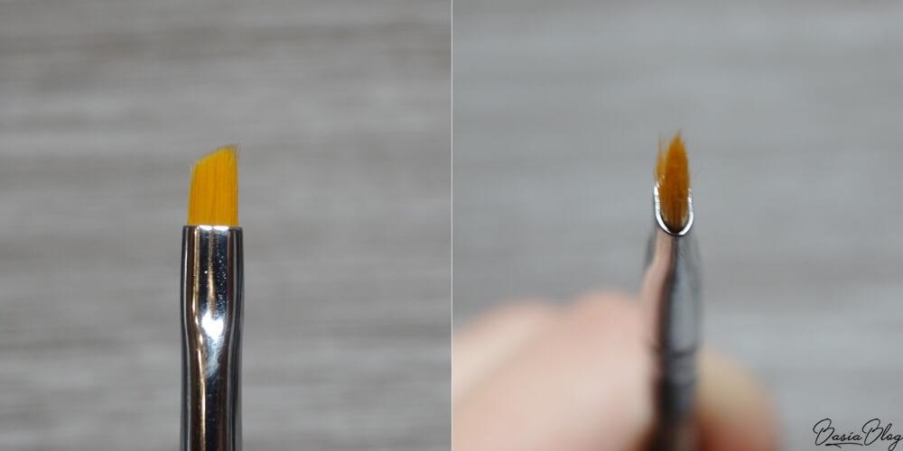 Zoeva 312 Detail Liner pędzel skośny do eyelinera kresek brwi