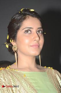 Actress Raashi Khanna Latest Stills at Supreme Movie Platinum Disc Function  0004.JPG