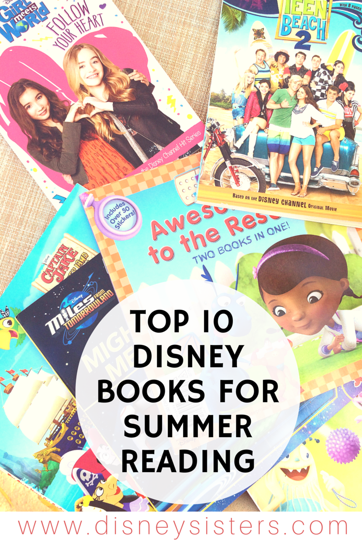Great Falls Transit >> Disney Sisters: Disney Books: Our Top 10 Picks for Summer Reading