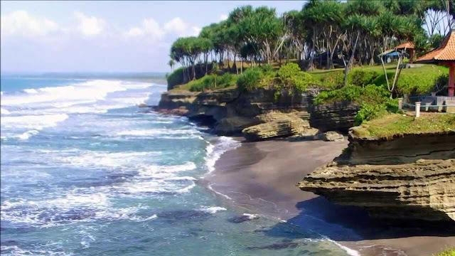 keindahan Tempat Wisata Pantai Pangandaran Ciamis Jawa Barat