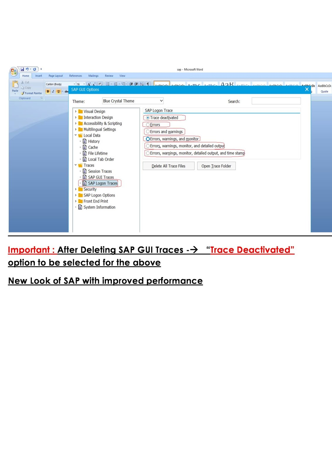 how to speed up SAP
