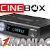 CINEBOX LEGEND  HD NOVA ATUALIZAÇÃO SKS 58W - 18/07/2016