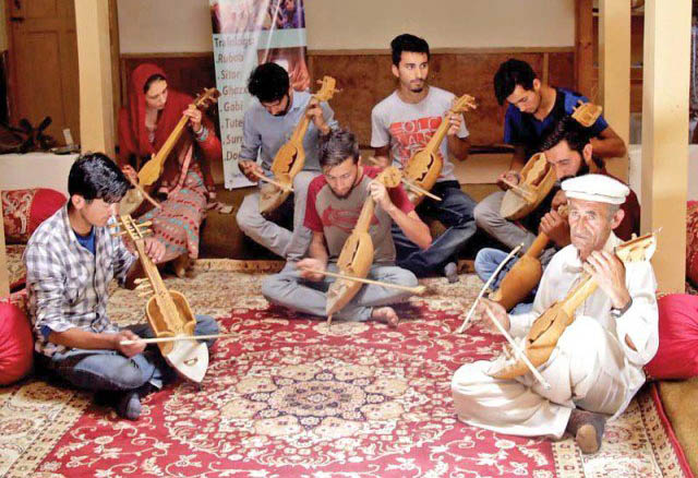 Musically forward -  teaching of music in schools in the country is growing conservatism of the country's middle classes, but Gilgit Balisttan is defying such notions