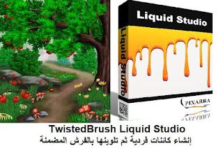 TwistedBrush Liquid Studio  إنشاء كائنات فردية ثم تلوينها بالفرش المضمنة
