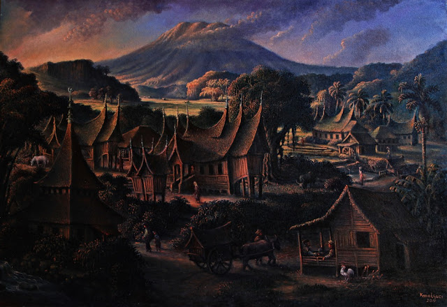 Lukisan Kamal Guci - teraSeni