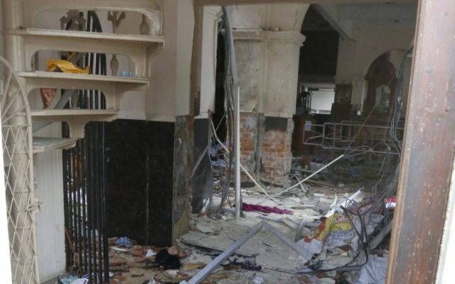 At least 137 dead, 560 injured in multiple church and hotel blasts