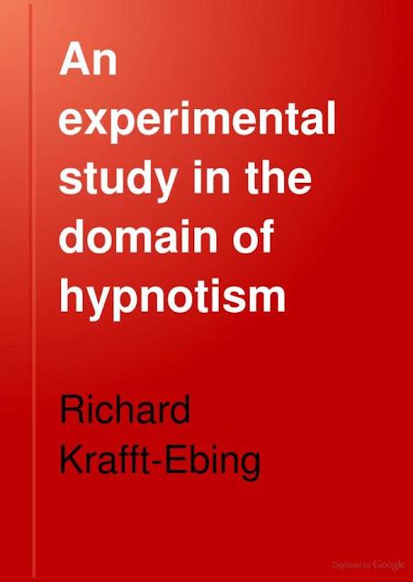 alt=An experimental study in the domain of hypnotism by Krafft-Ebing, R. von (Richard), Chaddock, Charles Gilbert