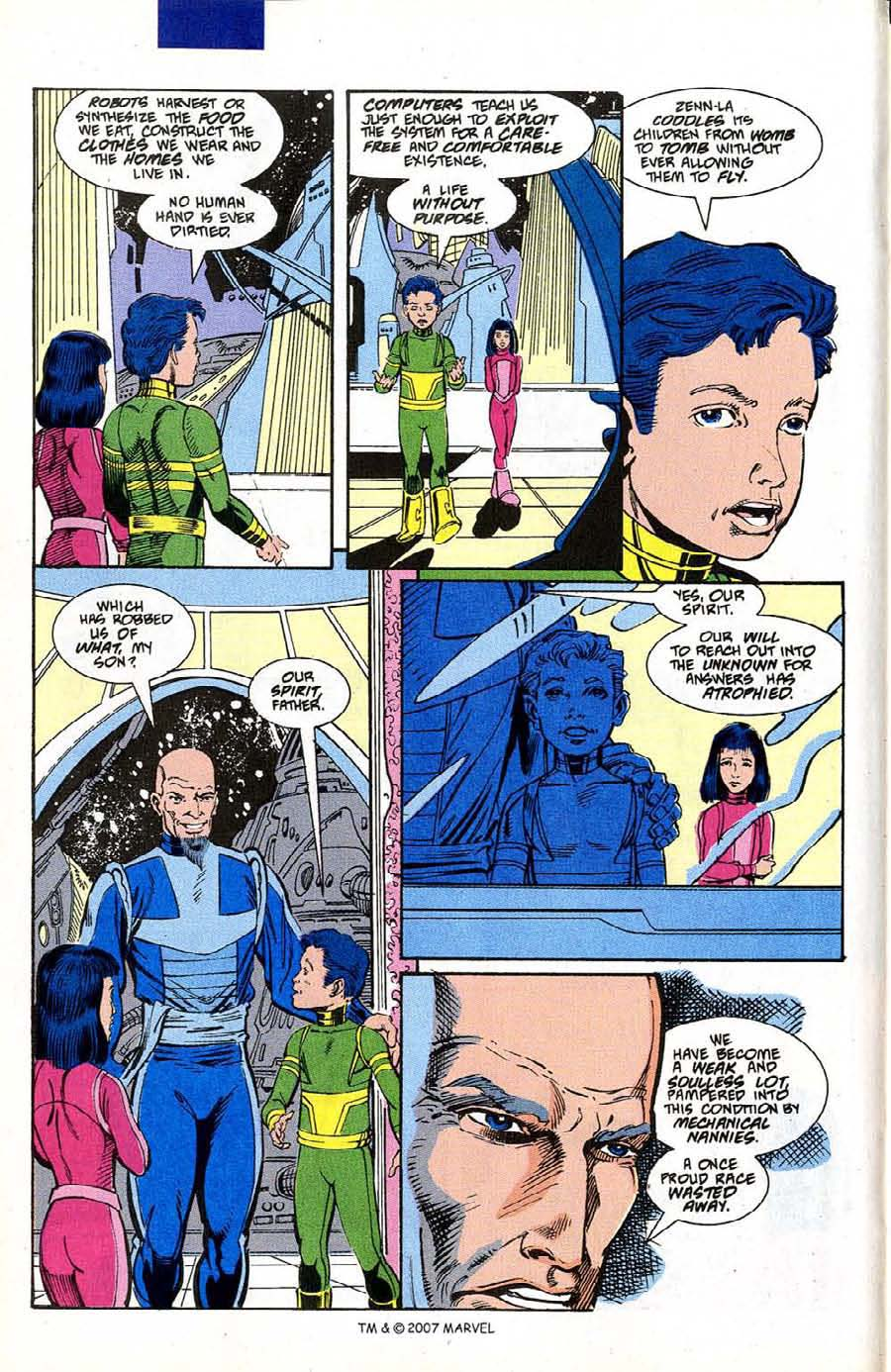 Read online Silver Surfer (1987) comic -  Issue #50 - 16