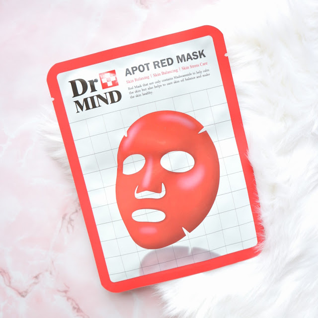 Dr. Mind Apot Red Mask
