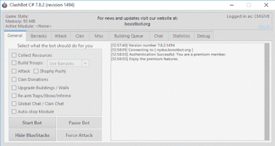 Clash bot COC 7 8 2 VIP Version Update 2019 Working