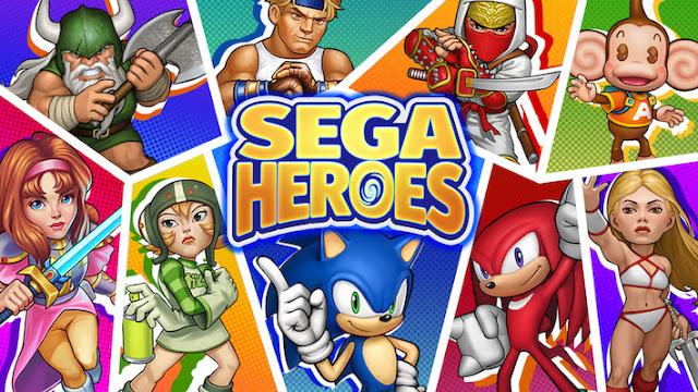 SEGA Heroes game