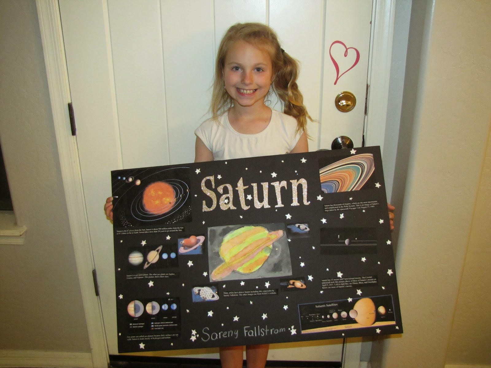 Fallstrom Family Astronomy Project