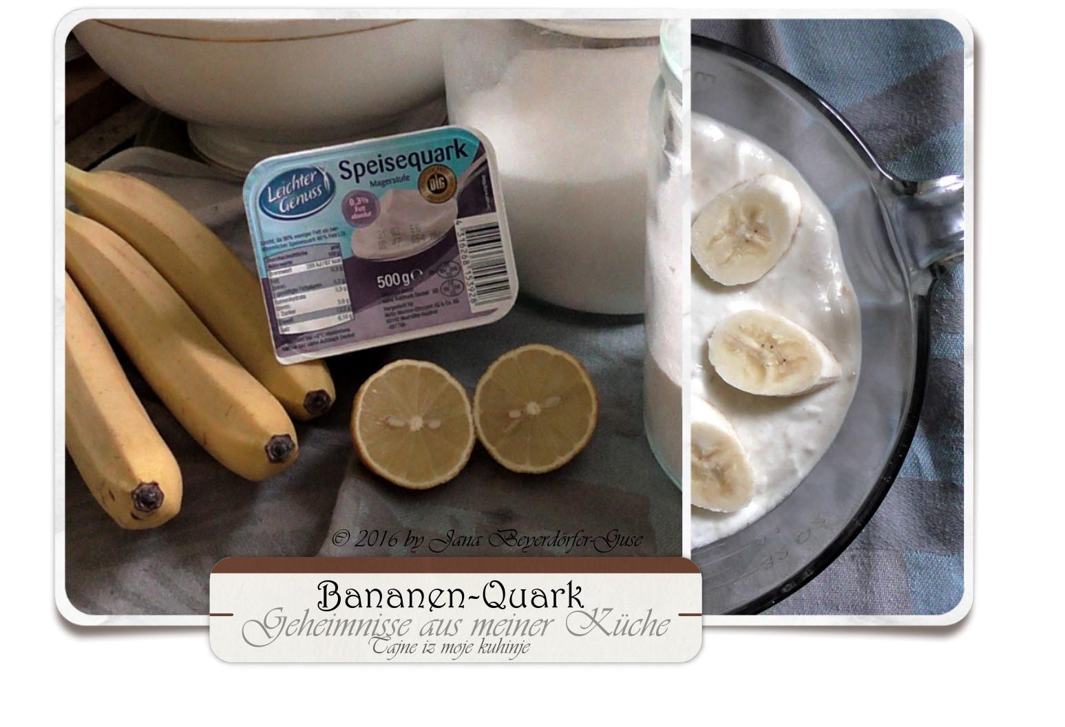 Janas Steinzeit Video Bananen Quark Mit Monsieur Cuisine