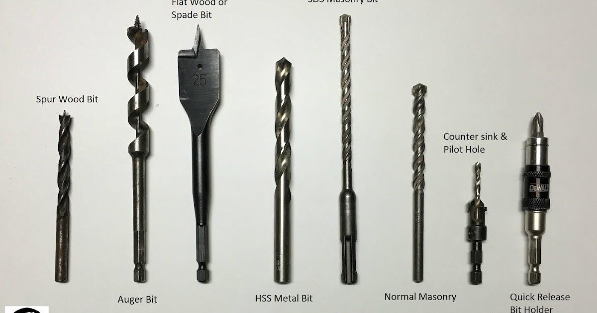 Types Of Drill Bit Mechanicstips
