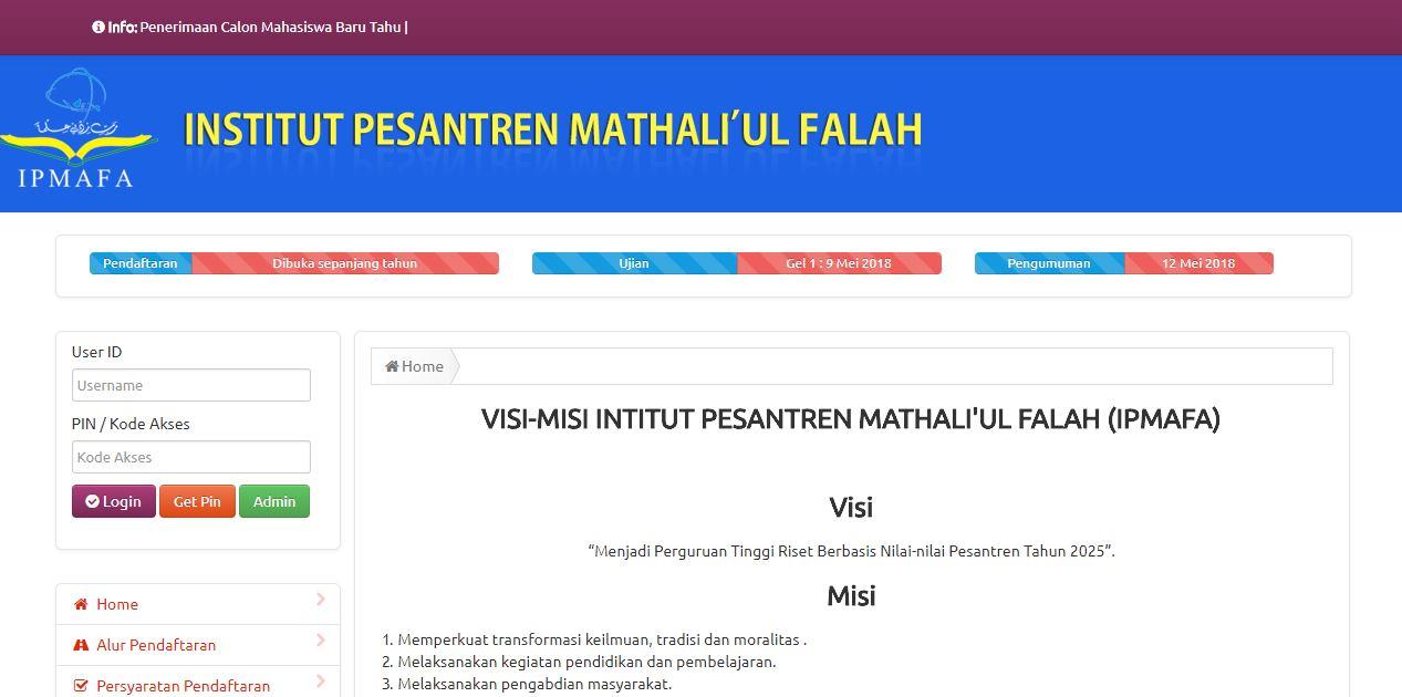 Step by Step Cara Daftar Online di IPMAFA
