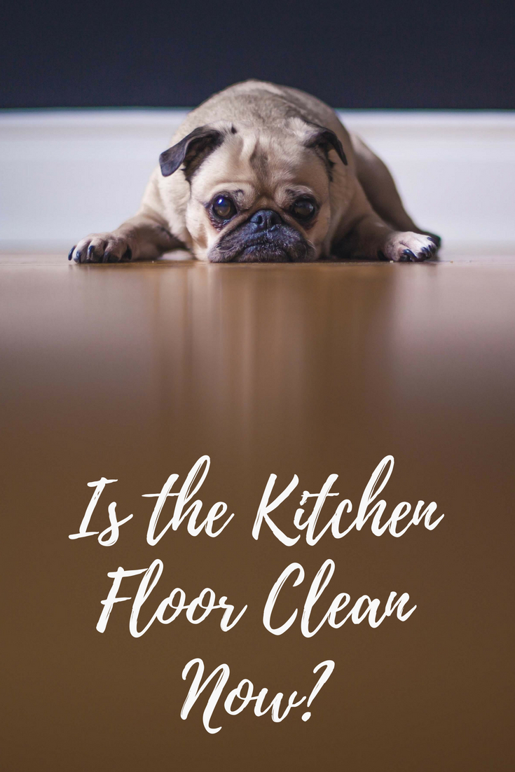 Restaurant Cleaning Checklist for a clean kitchen floor