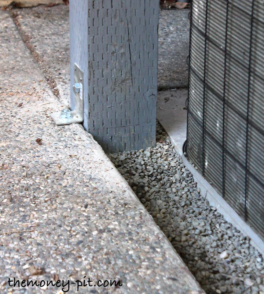 Replacing a Termite Damaged Pergola Post - The Kim Six Fix