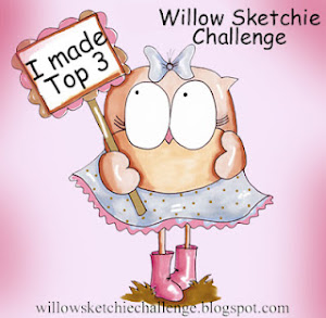 I made Top 3 at Willow Sketchie