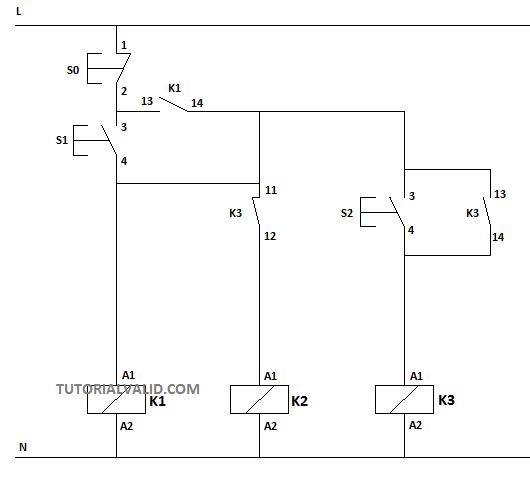 Rangkaian Kontraktor    Star       Delta    Wiring    Diagram      tutorial