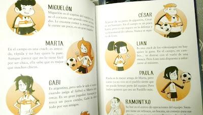 Equipo de los pardillos Libro Antiescuela de futbol los siete pardillos