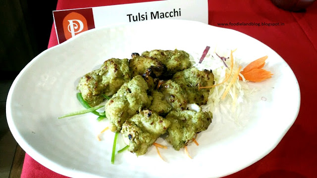 Tulsi Machhi @ The Hot N Juicy Kebab Festival @ Paradise | Bangalore