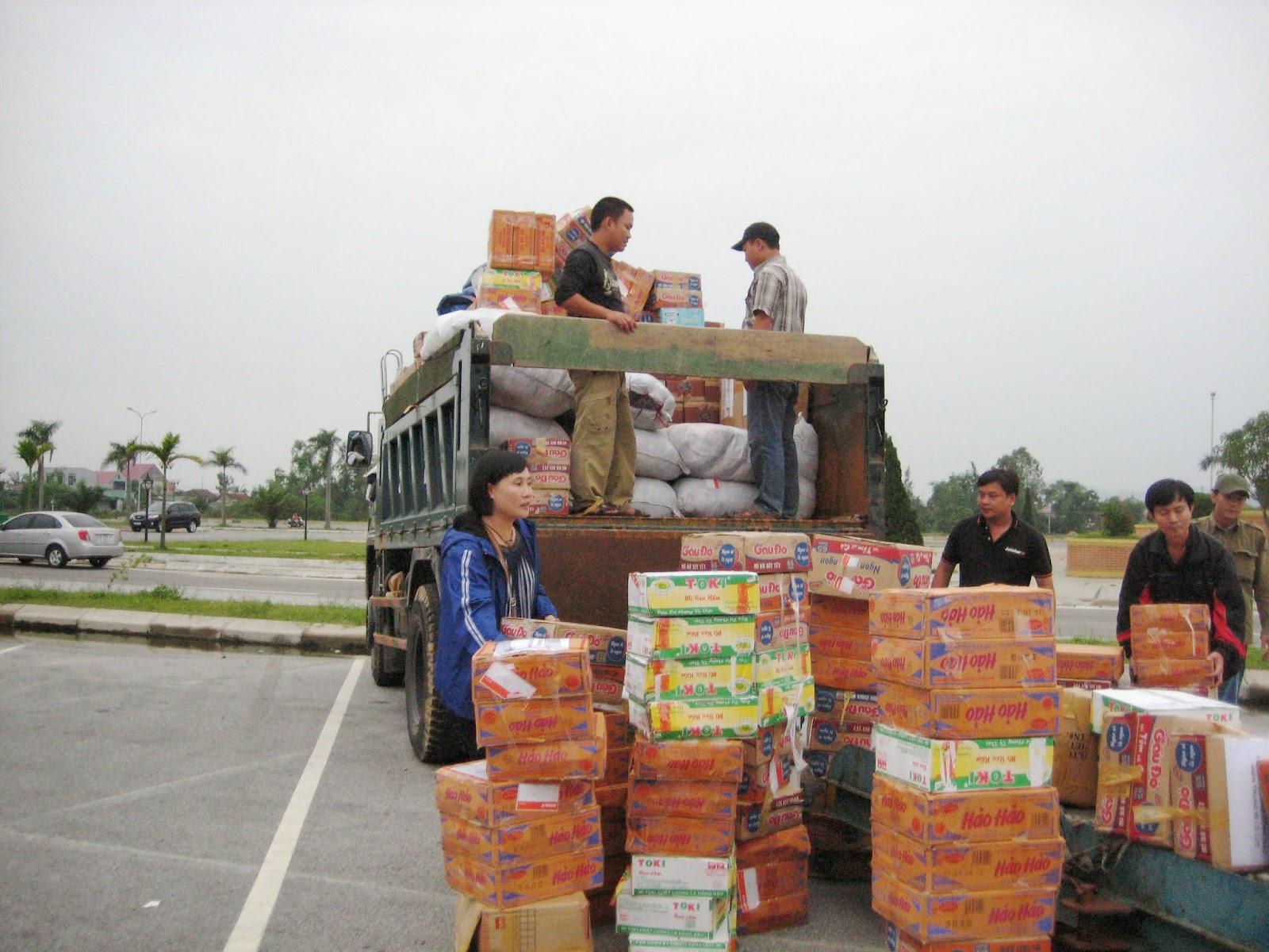 Jestar vận chuyển miễn phí hàng cứu trợ bão số 10