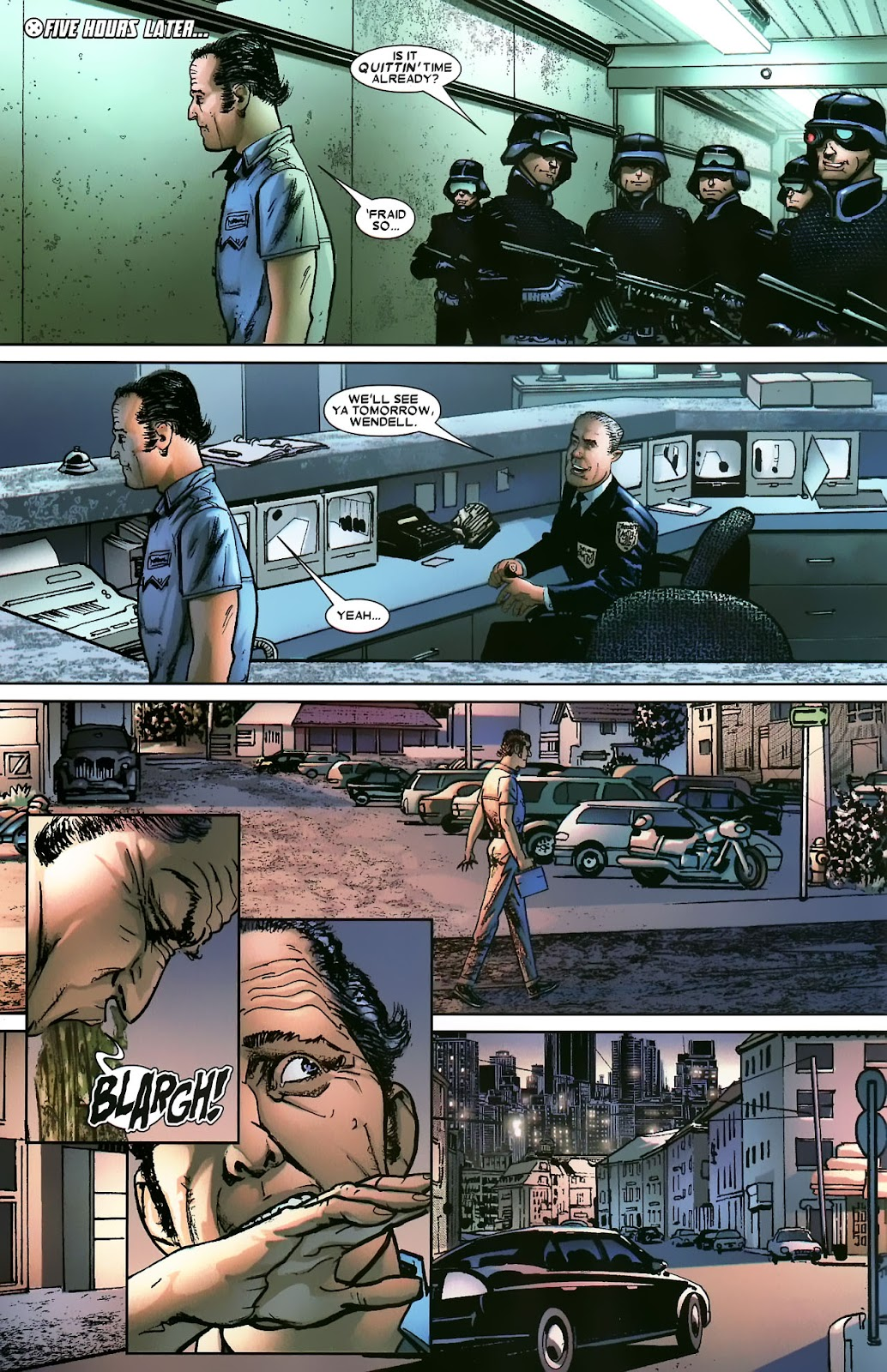 Read online Wolverine (2003) comic -  Issue #56 - 12