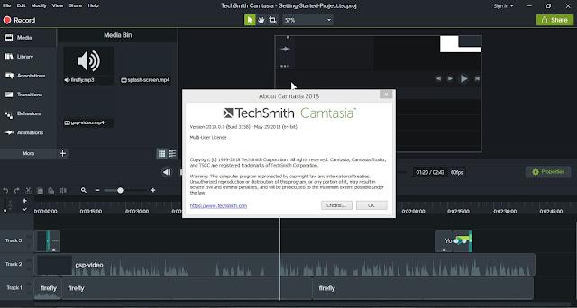Download TechSmith Camtasia Studio 2018 Build 3358 Full Version