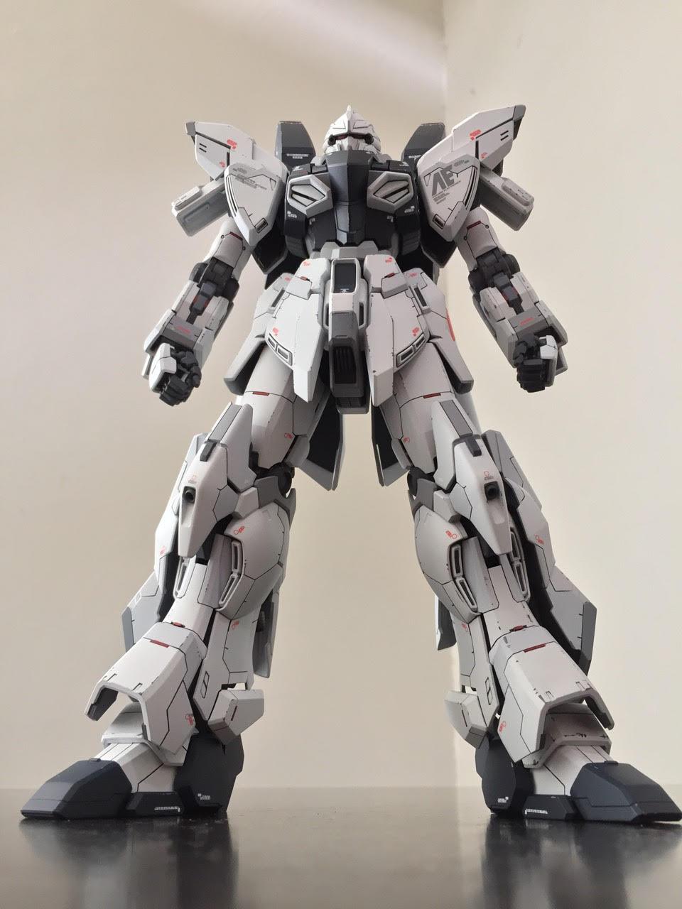 Custom Build: MG 1/100 Sinanju Stein Ver. Ka [Detailed ...
