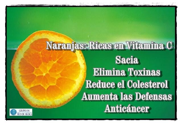 Propiedades de la Naranjas