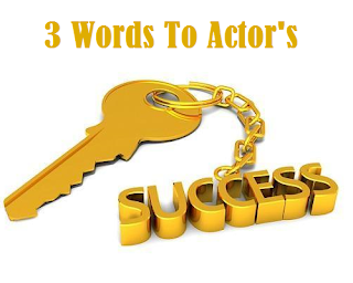Remember 3 words and be a successful actor