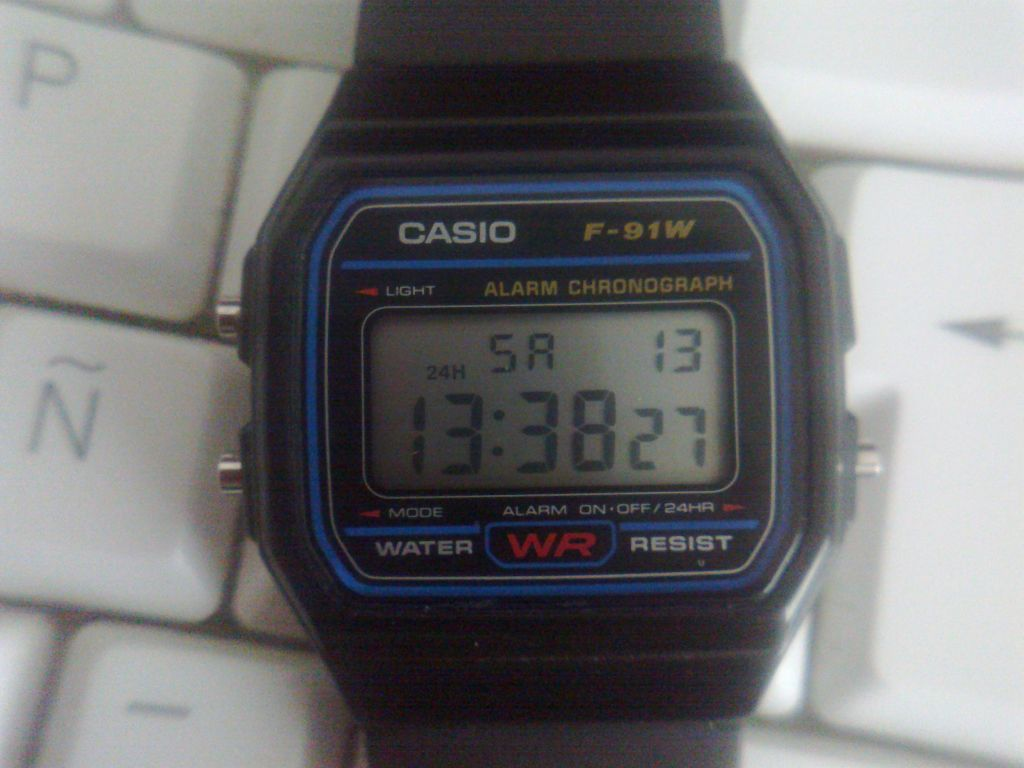 d04dd3dee40 Zona Casio  Prueba  Casio F-91W