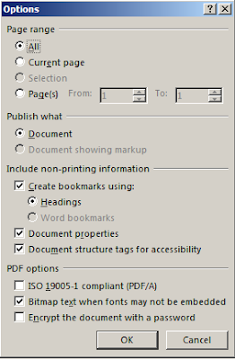 Cara Membuat Bookmark PDF di Word