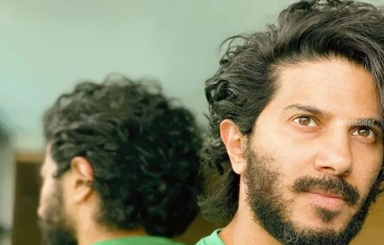 Dulquer Salmaan's lockdown curls