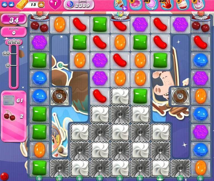 Candy Crush Saga level 2389