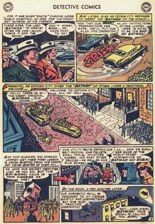 Read online Detective Comics (1937) comic -  Issue #215 - 5