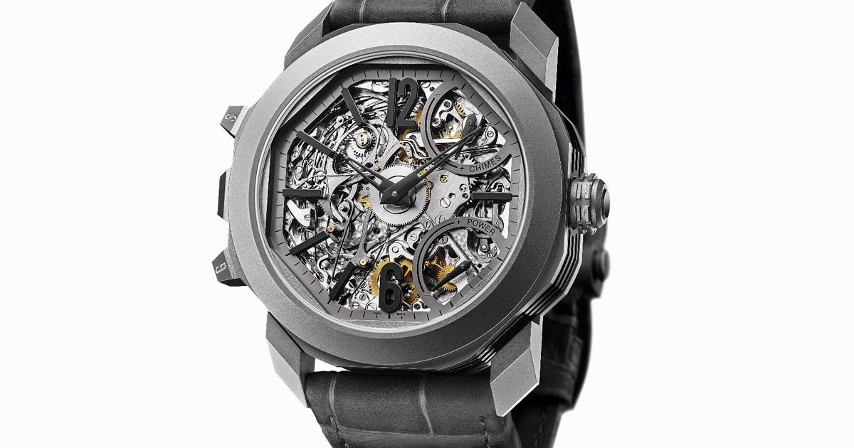 Bulgari octo grande sonnerie time and watches for Grande sonnerie