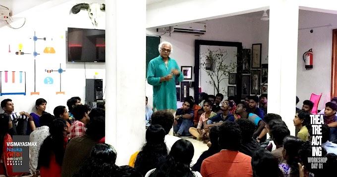 Theatre Acting Workshop@Vismayasmax Vismayas Max Animations by legendary Actor/Director - D Raghuthaman