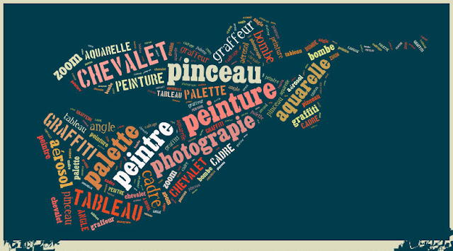 Dzieła sztuki - puzzle - nagłówek - Francuski przy kawie