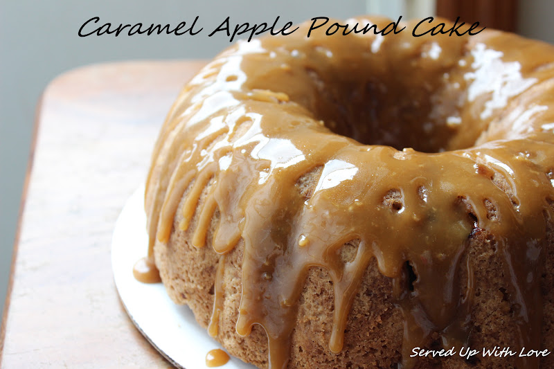 Brown Butter Caramel Apple Cake