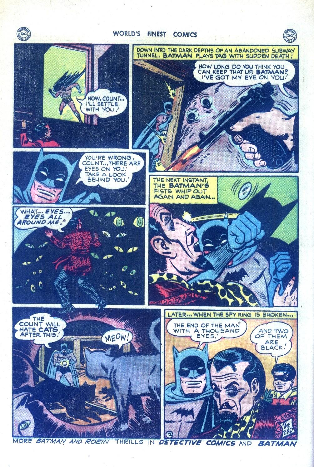 Read online World's Finest Comics comic -  Issue #43 - 72